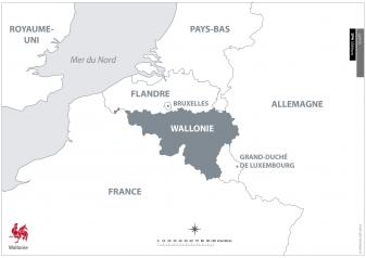 La Wallonie en Europe occidentale