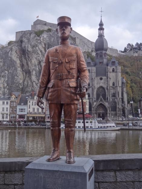 Statue Charles de Gaulle (Dinant)