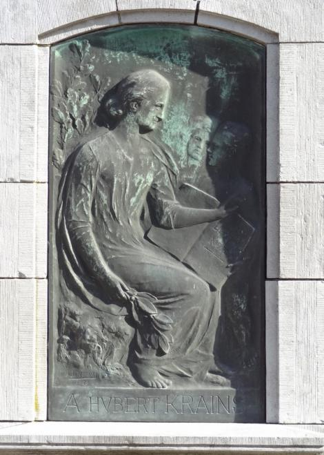 Bas-relief « Pain noir » Hubert Krains